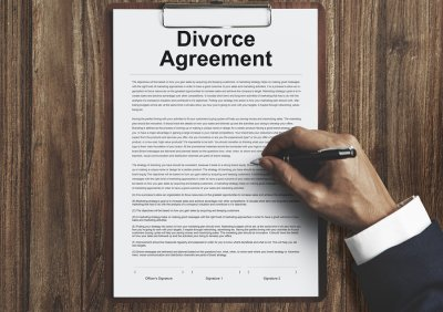 divorce - agreement